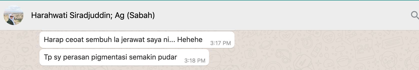 Harahwati Siradjuddin, 30  