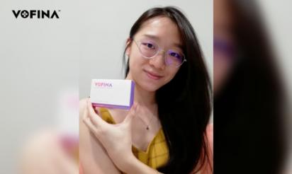 VOFINA™ customer review by Lim Zejun, 25, Malaysia