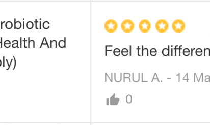 VOFINA™ customer review by Nurul A.